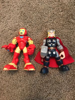 Marvel Iron Man and Thor Figures for Sale in Columbus, OH