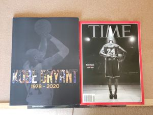 8 HR Deal READY TO SHIP ASAP The Los Angeles Kobe Bryant 1978 - 2020 PLUS Kobe Bryant Time Magazine February 2020 Tribute Issue Jersey for Sale in Los Angeles, CA
