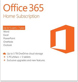 3 user for Office 365 Home 1 year subscription for Sale in Oro Valley, AZ