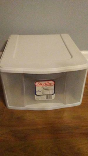 Plastic storage drawer for Sale in Acworth, GA
