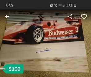 Mario Andretti certified 16x20 photo Signed Autograph SSG for Sale in Elk Grove, CA