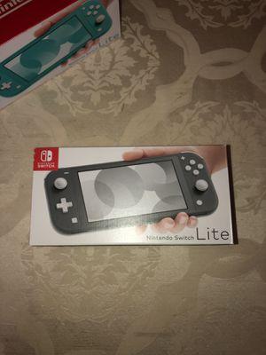 Nintendo Switch Lite Gray BRAND NEW for Sale in Costa Mesa, CA