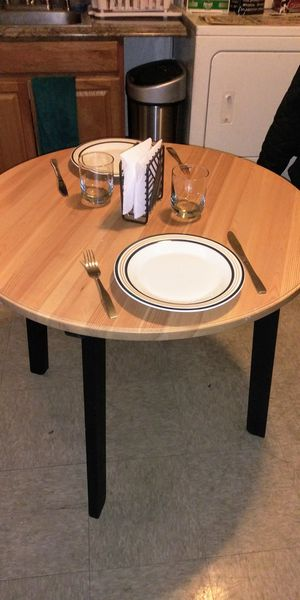 Smaller Round Kitchen Table for Sale in Lynn, MA