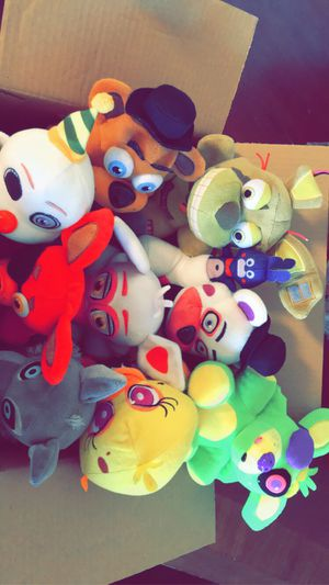 Five Nights Of Freddy's Plushy's for Sale in Denver, CO