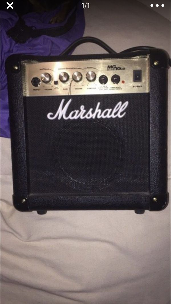 Marshall Amp in great condition!