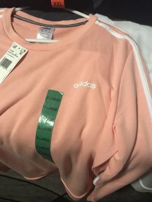 Ropa/plus size clothes adidas sweaters XL both for $30 , for Sale in Fresno, CA