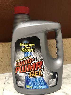Liquid Plumber Clog Destroyer Gel 40oz for Sale in Los Angeles, CA