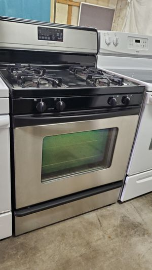Whirlpool stainless steel stove gas propane for Sale in Seffner, FL