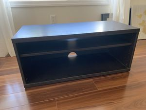 IKEA Mosjö TV media stand / shelving unit Black-brown for Sale in Morgantown, WV
