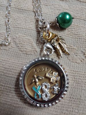Origami Owl locket and charms for Sale in Avondale, AZ