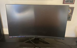 MSI Optixs MAG27 Series (curved gaming monitor) for Sale in League City, TX