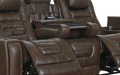 Game Zone Bark Power Reclining Sofa & Loveseat 38501 VENDOR ASHLEY for Sale in Houston,  TX