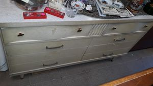 wood dresser mid cenntury for Sale in High Point, NC