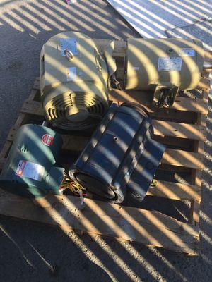 10hp 20hp and & 3hp motors for trade for Sale in Santa Clara, CA