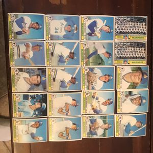Topps Mariners 1979 Baseball Cards for Sale in St. Charles, IL