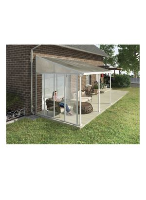 Palram Feria Patio Cover Sidewall Kit, 10', White DE 1115 for Sale in St. Louis, MO