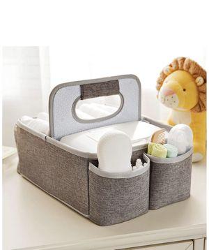 Munchkin Portable Diaper Caddy Organizer - Gray for Sale in St. Louis, MO