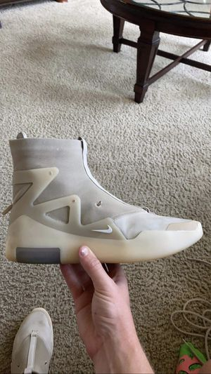 Nike Air fear of god 1 Oatmeal size 9.5 for Sale in Glen Carbon, IL
