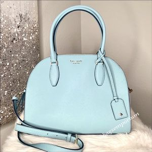 Kate Spade Large Reiley Dome Leather Satchel Crossbody bag / brand new purse for Sale in San Diego, CA