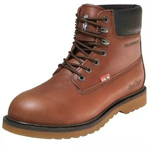 "Cactus Men's 6"" WP6118 Brown Water-Proof Work Boots Size 10 for Sale in Douglasville, GA"