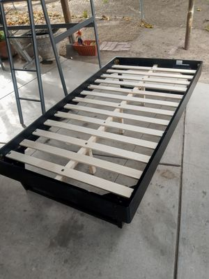 Modway twin size wooden bed frame, new just put it together yesterday. for Sale in Bakersfield, CA