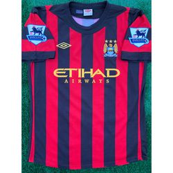 2011/12 Manchester City away soccer jersey M for Sale in Raleigh,  NC