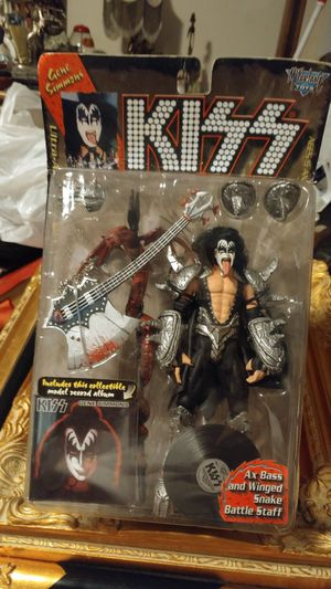 McFarlane Toys KISS Gene Simmons Ultra Action Figure (Album Version) for Sale in North Highlands, CA
