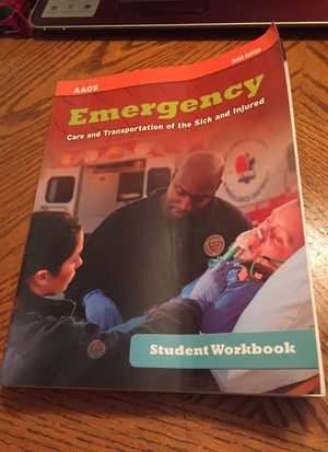 Emergency car EMT book 10th edition for Sale in West Palm Beach, FL