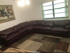 Sectional couch for sale for Sale in Miami, FL