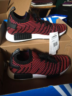 Adidas NMD Red, White and Black for Sale in Lynwood, CA
