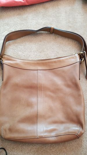 Authentic Coach Brown Leather Purse Handbag Tote for Sale in Tampa, FL