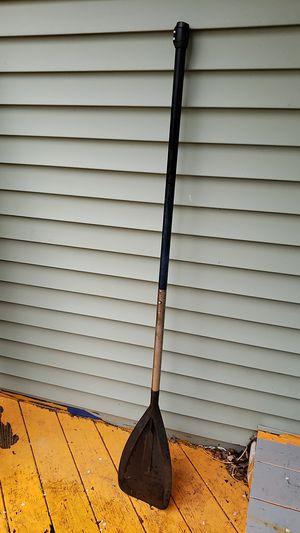 Black canoe paddle for Sale in Kingston, NY