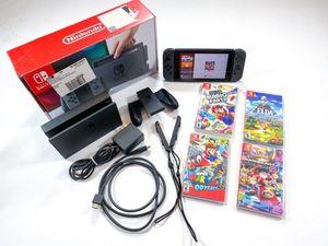 Nintendo switch bundle v2 for Sale in Downey, CA