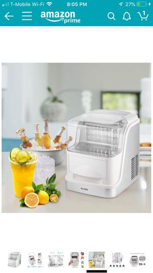 Portable Clear Ice Maker Machine, Makes Over 33 lbs for Sale in Moreno Valley, CA