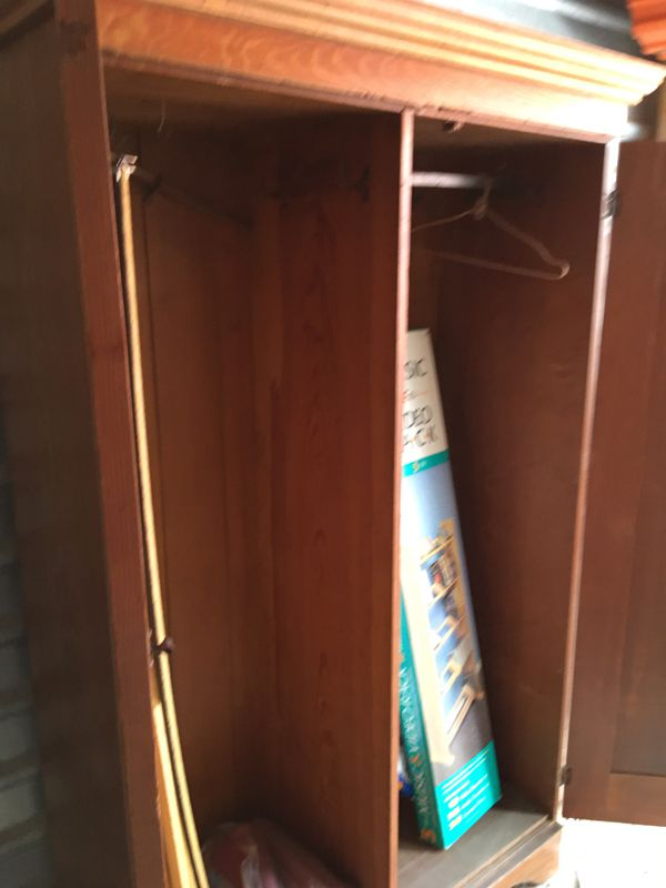 Solid Wood Armoire For Sale In Midlothian Va Offerup