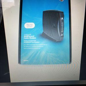 Motorola SURFboard SB5101U (567005-005-00) 38.91 Mbps Cable Modem for Sale in Layton, UT