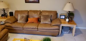 Sofa leather and Loveseat for Sale in Pembroke Pines, FL