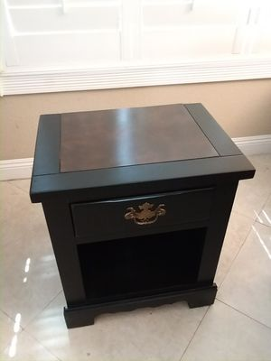 Black night stand for Sale in San Dimas, CA