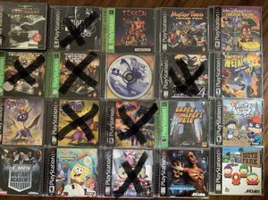 Playstation 1 ps1 games for Sale in Tampa, FL