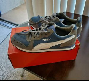 Mens size 10 3 pairs of shoes puma, vans and aldo for Sale in Chula Vista, CA
