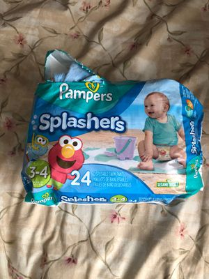 Pampers splashers diaper for Sale in Federal Way, WA
