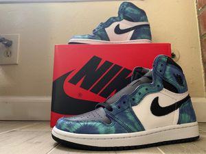 Nike air Jordan 1 tie dye for Sale in Whittier, CA