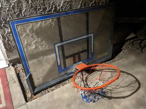 Basketball hoop free for Sale in Upland, CA
