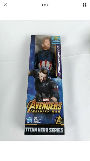 "Marvel Marvels Infinity War Titan Hero Series Captain America 12"" Figurine for Sale in Sioux Falls, SD"