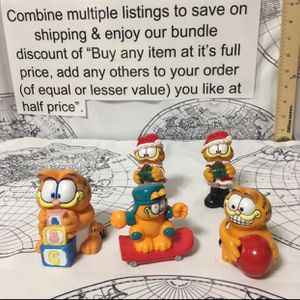 Vintage Garfield figures Lot (ship only) for Sale in Concord, NC