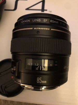 Canon 85mm 1.8 lens for Sale in Bowie, MD