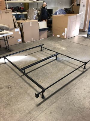 4 universal size Metal bed frames for Sale in Salt Lake City, UT
