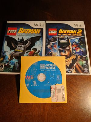 Lego Wii game bundle for Sale in Sacramento, CA