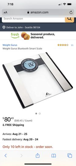 Weight gurus scale for Sale in Seattle,  WA