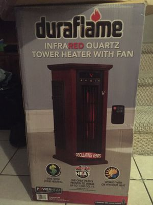 TOWER HEATER WITH FAN for Sale in Miami, FL